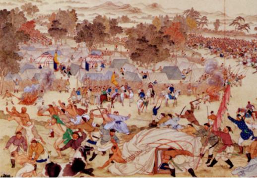 Zunghar Genocide (1755-1758)