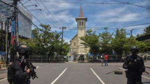 Bom Gereja Katedral Makassar