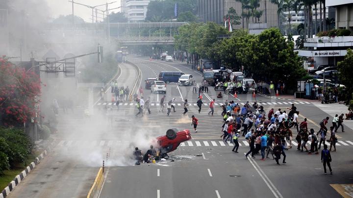 Bom Thamrin / bom Sarinah Jakarta